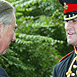 Chris Finney GC & Prince Charles